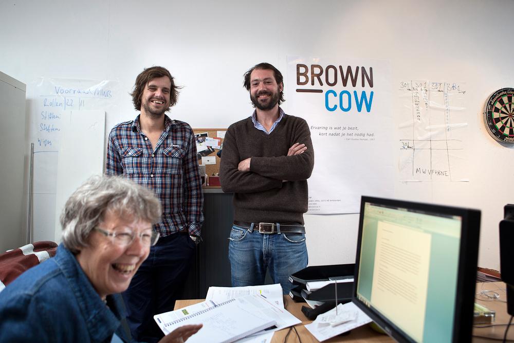 David van der Meulen en Kurt Hamming, Brown Cow