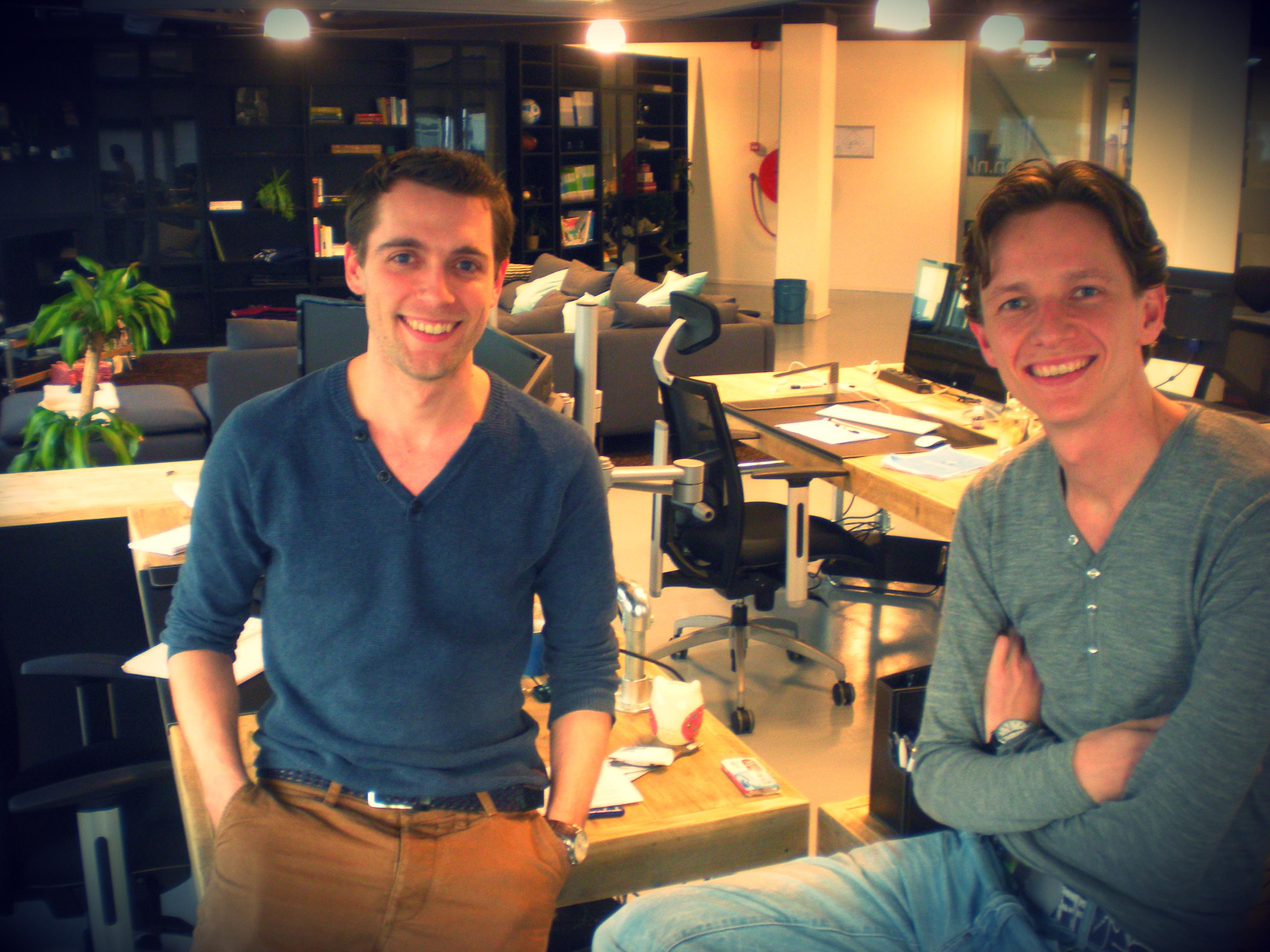 Pieter Brouwer en Jochem van Dalfsen
